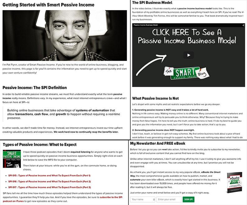 Smart Passive Income Start Here Page   crystalpulse.co.uk